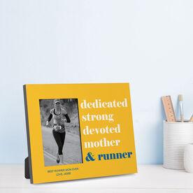 Running Photo Frame - Mantra Mother Runner