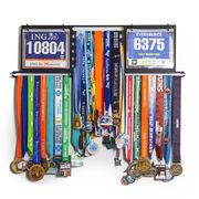 Deluxe BibFOLIO+™ Race Bib and Medal Display