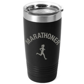 Running 20oz. Double Insulated Tumbler - Marathoner Girl
