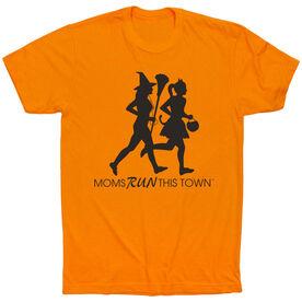 Running Short Sleeve T-Shirt - Moms Run This Town Halloween