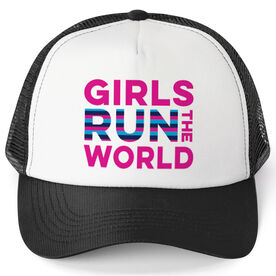 1f42df716c5 Running Trucker Hat - Girls Run The World