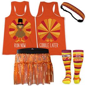Pilgrim Turkey Running Outfit