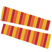 Printed Arm Sleeves - Thanksgiving Stripes