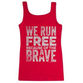 Women's Athletic Tank Top We Run Free