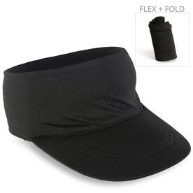 Running Comfort Performance Visor - Black