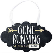Running Cloud Sign - Gone Running (Dry Erase)