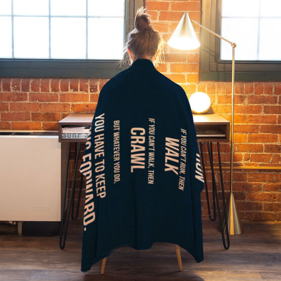 Running Premium Blanket - If You Can't Fly