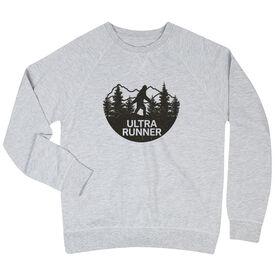 Running Raglan Crew Neck Sweatshirt - Ultra Runner Bigfoot