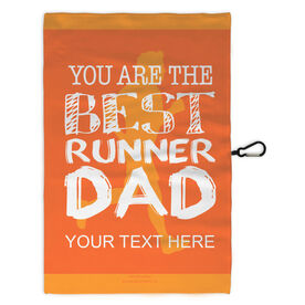 Running Workout/Golf Towel You Are The Best Runner Dad