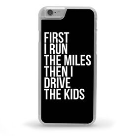 Running iPhone® Case - Then I Drive The Kids