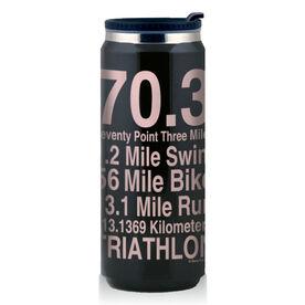 Stainless Steel Travel Mug 70.3 Math Miles