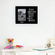 Running Photo Frame - Father Words (Simple)