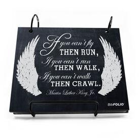 BibFOLIO® Race Bib Album - If You Can't Fly Chalkboard