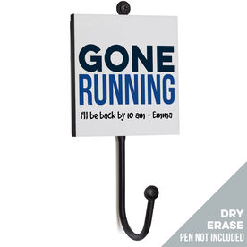 Running Medal Hook - Gone Running (Dry Erase)