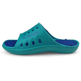 PR SOLES® Recovery Sandals - Teal/Royal Blue