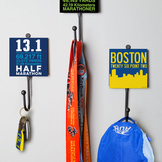 Running Medal Hook - 13.1 Math Miles