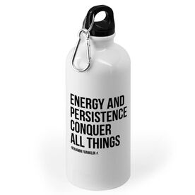 Running 20 oz. Stainless Steel Water Bottle - Energy and Persistence