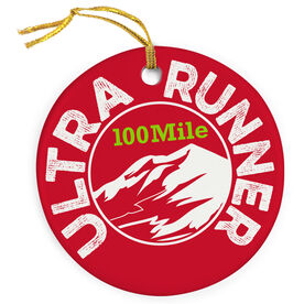 Running Porcelain Ornament Ultra Mountain