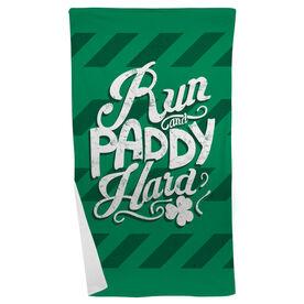 Running Beach Towel Run and Paddy