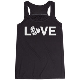 Flowy Racerback Tank Top - Love Run
