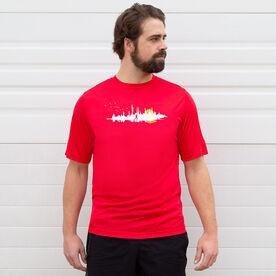 Men's Running Short Sleeve Tech Tee - Runner Reflection