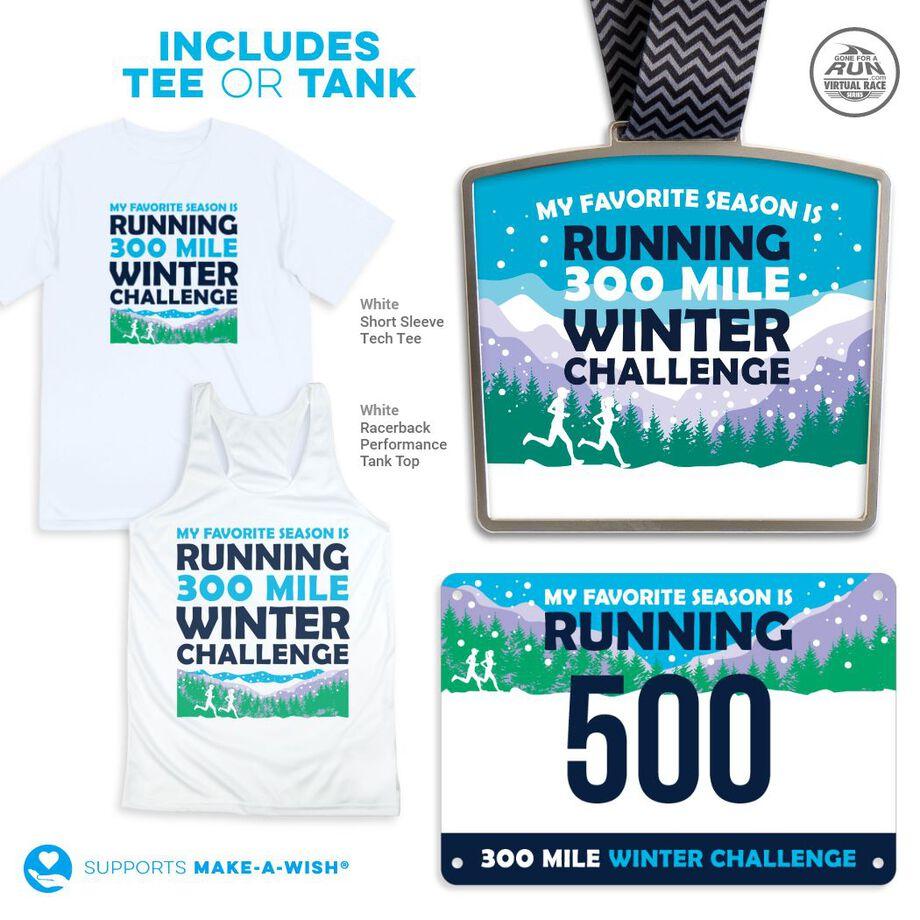 Virtual Race - 300 Mile Winter Challenge (2021)