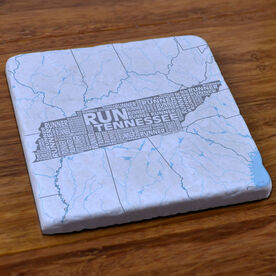 Tennessee State Runner Stone Coaster