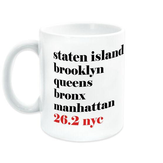 Running Coffee Mug - 26.2 NYC Mantra