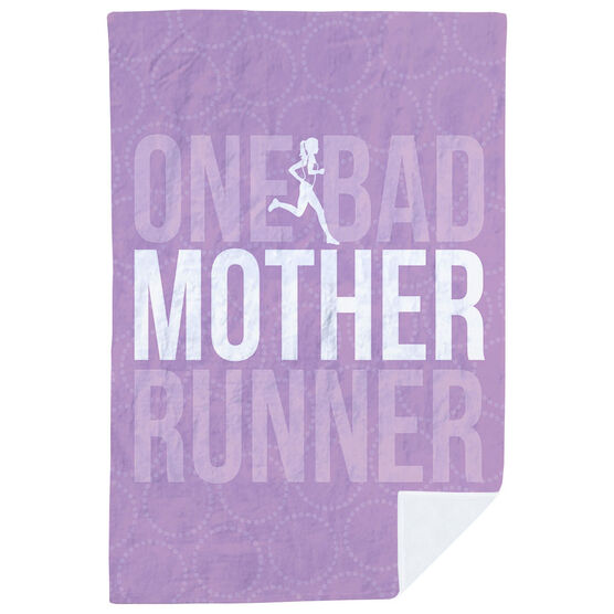 Running Premium Blanket - One Bad Mother Runner
