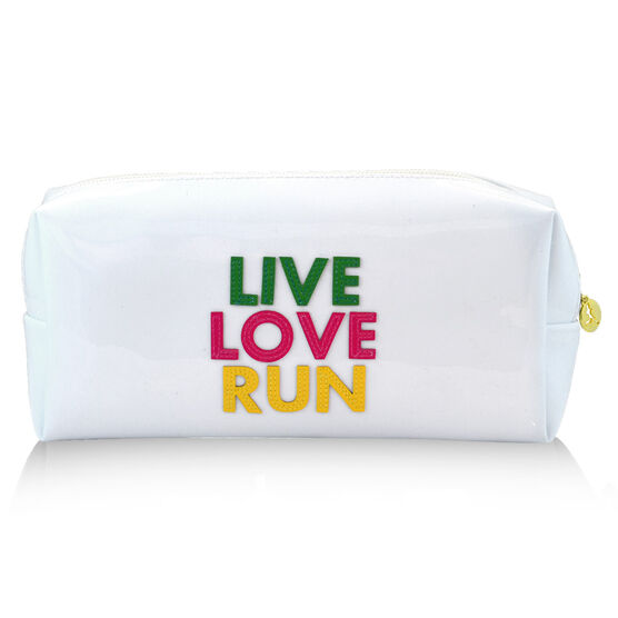 Live Love Run Runner's Cosmetic Bag - Lexi