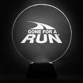 Running Acrylic LED Lamp Gone For A Run