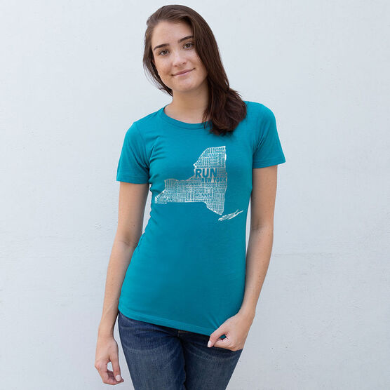 Women's Everyday Runners Tee New York State Runner