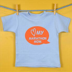 Love My Marathon Mom Baby T-shirt