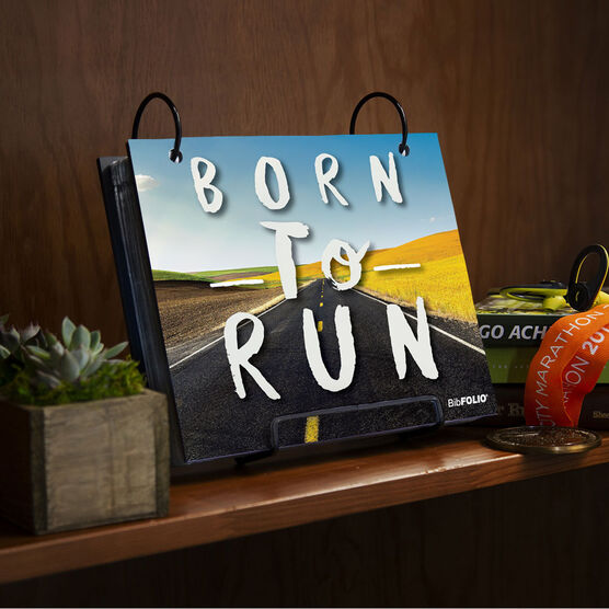 BibFOLIO® Race Bib Album - Born To Run