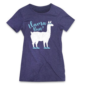 Women's Everyday Runners Tee - Llama Run