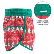 Women's Running Shorts - Ugly Sweater