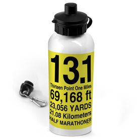 20 oz. Stainless Steel Water Bottle 13.1 Math Miles