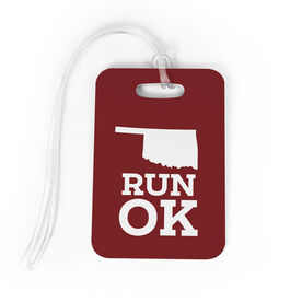 Bag/Luggage Tag Oklahoma State Runner