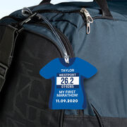 Running Jersey Bag/Luggage Tag - Custom Bib Shirt