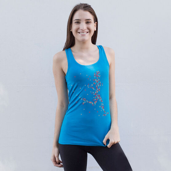 Running Women's Athletic Tank Top - Star Girl