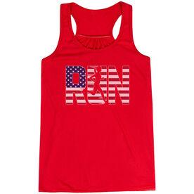 Flowy Racerback Tank Top - Run Girl USA
