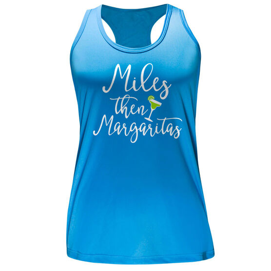 Women's Performance Tank Top - Miles Then Margarita