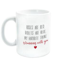 Running Coffee Mug - Roses Are Red