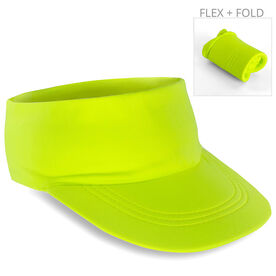 Running Comfort Performance Visor - Safety Yellow