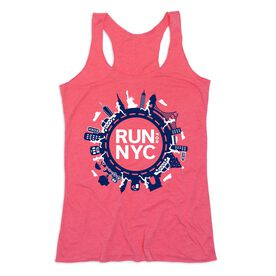 Women's Everyday Tank Top - Run For NYC