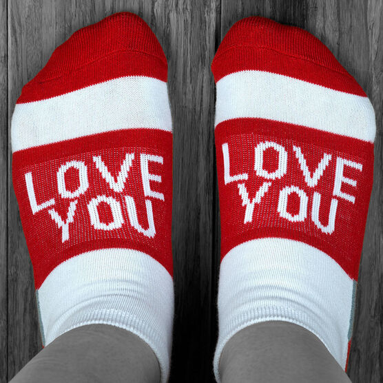 Socrates® Woven Performance Sock - Love You