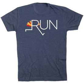 Running Short Sleeve T-Shirt - Let's Run For Turkey