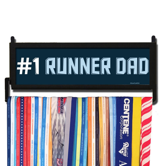 RunnersWALL #1 Runner Dad Medal Display