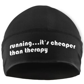 Run Technology Beanie Performance Hat - Running...Cheaper Than Therapy