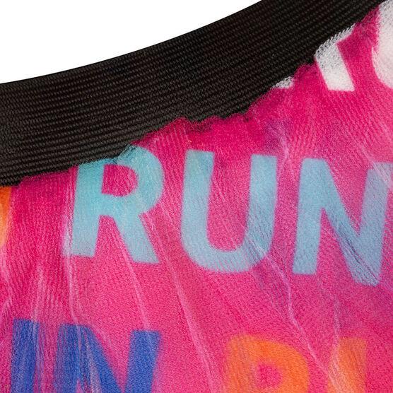 Runner's Printed Tutu Run Run Run